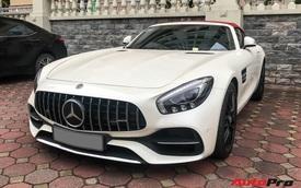 Mercedes-AMG GT Roadster hiếm gặp nhất nhì Việt Nam tái xuất Hà Nội sau 1 năm định cư Sài Thành