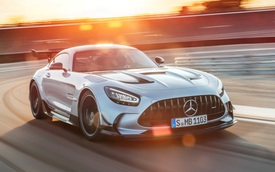 Ra mắt Mercedes-AMG GT Black Series - Siêu xe đích thực với công suất khủng, tốc độ cao