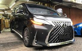 Rộ thú chơi độ Toyota Alphard giống y chang Lexus LM giá chục tỷ