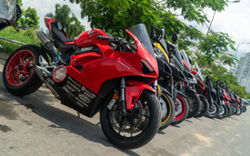 Dàn Ducati hơn 80 chiếc quy tụ tại Sài Gòn: Nhiều mô tô tiền tỷ xuất hiện