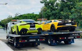 Vừa ra biển số cho Bentley Bentayga, đại gia Hoàng Kim Khánh mang bộ đôi siêu xe độ khủng ra Hà Nội
