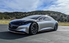 Lộ mẫu xe Mercedes-Benz sẽ được trang bị màn hình siêu khủng lớn nhất thế giới