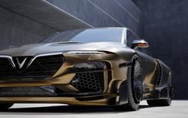 Designer Việt thiết kế VinFast Lux A2.0 như siêu xe: Mất hơn 1 tháng để thực hiện