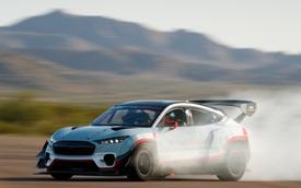Ford Mustang SUV siêu drift chính thức chào sân: 7 mô tơ điện, 1.400 mã lực!