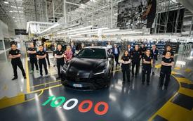 Urus trở thành ngòi nổ doanh số của Lamborghini với 10.000 xe xuất xưởng sau 2 năm