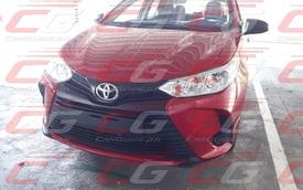 Toyota Vios 2020 lộ diện trước giờ G: Đầu xe như Camry