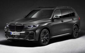 Ra mắt BMW X7 Dark Shadow Edition: Đen toàn tập, 600 xe có cơ hội cho đại gia Việt
