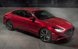 Hyundai Sonata thế hệ mới thêm nâng cấp công nghệ đấu Toyota Camry