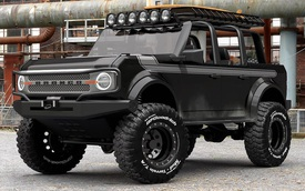 Ford Bronco Midnite Edition: Khởi đầu đẹp cho siêu SUV địa hình
