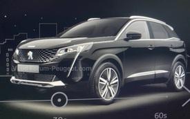 Peugeot 3008 mới lộ bộ mặt khác biệt với 'nanh sư tử' lớn