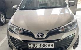 Bốc được biển tứ quý 8, chủ Toyota Vios tại Hà Nội bán lại giá hơn 1 tỷ, khẳng định 'khách chốt 1 tỷ lấy luôn còn không bán'