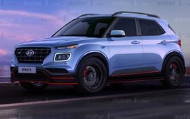 Xem trước thiết kế Hyundai Venue N - SUV nhỏ hiệu suất cao đầu tiên của Hàn Quốc