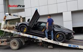 Lamborghini Aventador S thứ 3 về Việt Nam: Màu sơn và bộ vành hàng độc, cản sau được tháo tung gây chú ý hơn