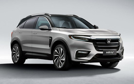 Đây có thể là Honda HR-V mới - Hyundai Kona cần dè chừng