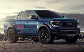 Ford Ranger Raptor thế hệ mới lần đầu lộ thông tin động cơ