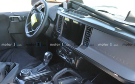 Ford Bronco lộ trọn vẹn nội thất trước ngày ra mắt: Học phong cách F-150
