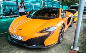 Siêu xe McLaren 650S Spider của đại gia Cần Thơ nâng cấp hệ thống ống xả 'mạ vàng' giá hơn 100 triệu đồng