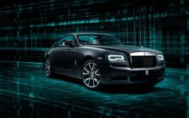 Rolls-Royce Wraith Kryptos - Khi nhà giàu bị thách đố giải 'Mật mã Da Vinci' của làng xe