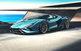Nếu còn xe, đại gia Hoàng Kim Khánh có thể ký tên lên Lamborghini Sián Roadster mà không cần tự làm như với Aventador S