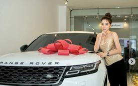 Hoa hậu Kỳ Duyên sắm Range Rover Velar giá 5,4 tỷ, fan vào khen: 'Bằng tuổi mà tớ mới mua được SH'