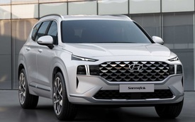 Hyundai Santa Fe 2020 vừa ra mắt đã sắp có bản mới kèm thêm phiên bản đặc biệt