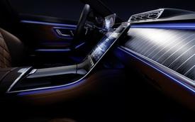 Mercedes-Benz S-Class thế hệ mới khoe nội thất đẹp miên man, nhiều tính năng khiến đại gia Việt mong chờ