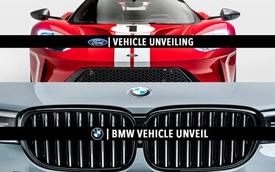 Ford, BMW chốt lịch ra mắt xe mới trong tuần này: Liệu có phải những 'hàng khủng' mới?