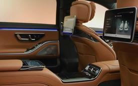 Trọn vẹn nội thất Mercedes-Benz S-Class đời mới qua bộ ảnh mãn nhãn: Ai cũng phải xuýt xoa