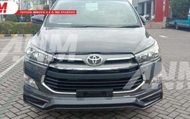 Toyota Innova TRD Sportivo bất ngờ lộ diện: Phiên bản giải phóng hàng tồn, chuẩn bị 'nhường sân' cho bản facelift