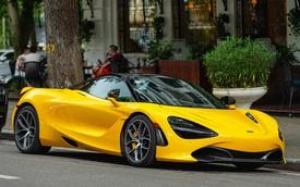 McLaren 720S Spider màu vàng đầu tiên về nước bất ngờ xuất hiện tại Hà Nội sau một thời gian dài lăn bánh tại Sài Gòn