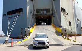 Nhiều xe ăn khách chuyển lắp ráp kéo lượng nhập sụt giảm sâu