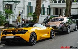 Thánh địa siêu xe Hà Thành tấp nập trở lại với loạt siêu xe, xe sang có giá trị cả trăm tỷ đồng