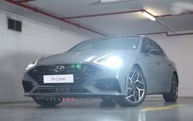 Bất ngờ lộ diện Hyundai Sonata N-Line: Đối thủ Toyota Camry có bản thể thao chất hơn hẳn