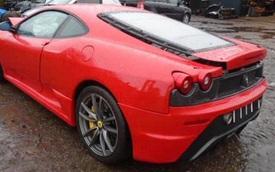 Ferrari F430 Scuderia được thanh lý giá 2,6 tỷ đồng tại Việt Nam nhưng tình trạng khiến ai cũng ngỡ ngàng