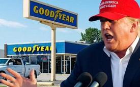 Tổng thống Trump: Đừng mua lốp Goodyear vì họ cấm dùng mũ 'Make American great again'