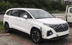 Hyundai Custo lộ diện gần như hoàn chỉnh - 'Nỗi lo' mới của Kia Sedona