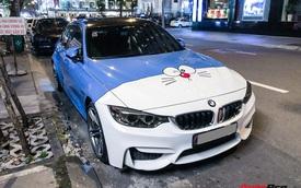 Dân chơi Sài Thành trang trí BMW M3 theo phong cách Doraemon không đụng hàng với bất kỳ ai
