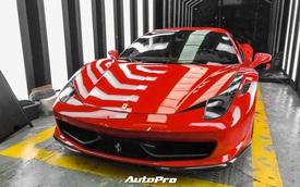 Soi nội thất siêu độc của Ferrari 458 Italia vừa về Việt Nam