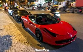 Dàn siêu xe của Evo Team hội ngộ lúc nửa đêm tại Sài Gòn