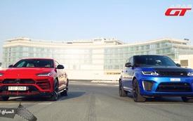 SUV nhanh nhất thế giới là đây: Lamborghini Urus 'hủy diệt' Range Rover Sport SVR trong đua drag