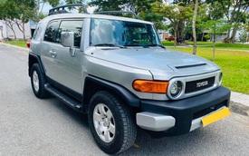 Hết thời, Toyota FJ Cruiser 13 năm tuổi vẫn đắt ngang Fortuner thế hệ mới