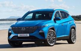 Xem trước thiết kế Hyundai Tucson 2021: Lột xác hoàn toàn, đe doạ Toyota Corolla Cross, Honda CR-V khi về Việt Nam