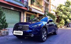 Mới chạy 30.000km, xe sang Nhật Infiniti QX70 được bán lại với giá rẻ ngang Mercedes GLC 200