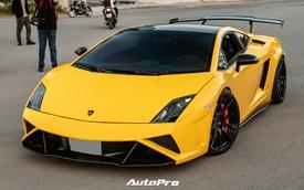 Cận cảnh Lamborghini Gallardo LP560-4 độ bodykit Squadra Corse độc nhất Việt Nam với lớp áo mới