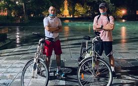 Xuân Trường chơi lớn, 'phượt' hơn trăm cây số về quê bằng xe đạp và cái kết bị chê già lẫn 'ê mông'