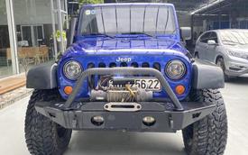 12 năm tuổi, hàng hiếm Jeep Wrangler Rubicon vẫn đắt hơn Ford Ranger Raptor 200 triệu đồng