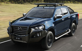 Chuẩn bị mở bán, Mazda BT-50 thế hệ mới nhận được hàng loạt 'đồ chơi'