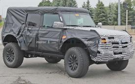 Ford Bronco Raptor lần đầu lộ diện: Chuẩn dân chơi gầm cao