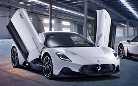 Ra mắt Maserati MC20: Dùng công nghệ F1, thoát bóng động cơ Ferrrari