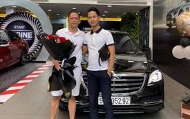 Ca sĩ Duy Mạnh tậu Mercedes-Benz S 450 L gần 5 tỷ đồng với màu tương phản xe Tuấn Hưng